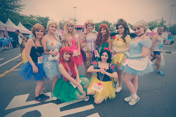 Disney Princesa Magical run acontece no Jockey Club neste ano | Boralá
